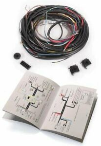 Vw Type 2 Bus 1955 To 1960 Complete Wiring Harness Kombi Transporter Microbus