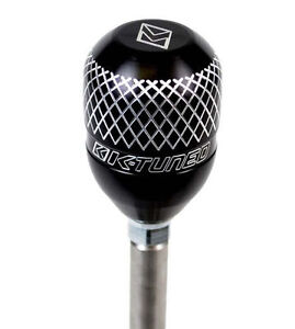 K Tuned Billet Shift Knob Honda Civic Integra Rsx Crx Accord Prelude S2000 Black