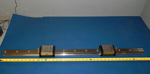 Star 1621 322 10 Linear Slide Rail With Runner Block Linear Bearings 162132210