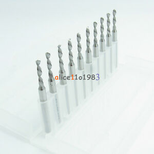 1 2mm Micro Mini Carbide Steel Engraving Drill Bit Pcb Press Cnc Dremel