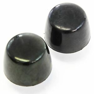 2 Rubber Hood Bumpers 87 18 Fits Jeep Wrangler Black Cushion Stopper Bumpstop