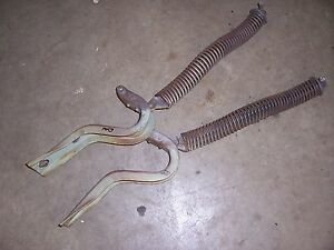 1950 Pontiac Silver Streak 2 Door Fastback Rear Trunk Lid Deck Hinge Set Pair
