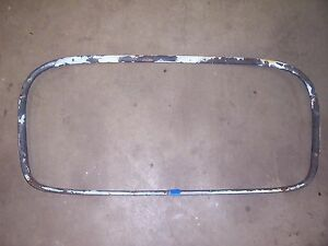 1950 1952 Pontiac Silver Streak 2 Door Fastback Interior Rear Window Trim