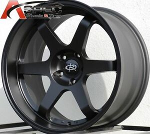 19x9 5 19x10 15 Rota Grid 5x114 3 Black Wheel Fits Ford Mustang Gt Tl Staggered