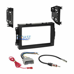 Car Radio Stereo Dash Kit Panel Wire Harness For 2004 2008 Chrysler Dodge Jeep