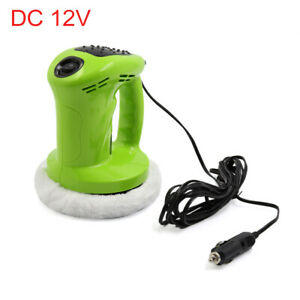 12v 80w Green Abs Auto Waxing Buffing Machine Car Electric Waxer Polisher Clean