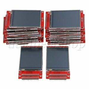20pieces 2 8 240 X 320 Spi Tft Lcd Serial Port Module 5v 3 3v Pbc Adapter
