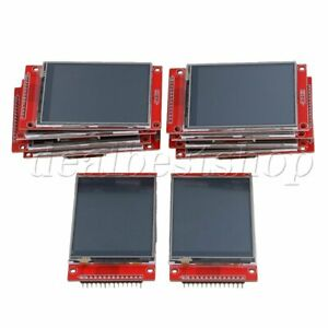 10pieces 2 8 240 X 320 Spi Tft Lcd Serial Port Module 5v 3 3v Pbc Adapter