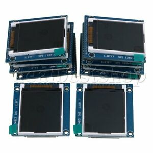 10piece 1 8 Serial Lcd Module Display 262k Screen Pcb Adapter 3 4x4 7cm Cover