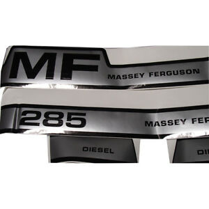 Vinyl Hood Decal Kit For Massey Ferguson 285