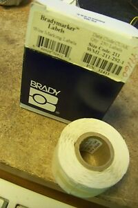 New Brady Wml 211 2 I d Pro Plus Ls2000 Bradymarker Xc Plus Printer Labels
