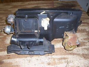 1977 1978 Lincoln Town Coupe Interior Heater Housing Case Duct Parts