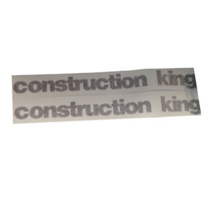 Complete Decal Set For Case 580 Super K Extended 4x4 580sk Construction King
