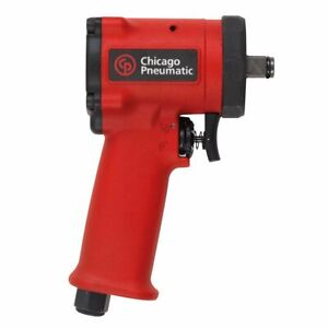 Chicago Pneumatic Cp7732 1 2 inch Drive Aluminum Body Stubby Impact Wrench