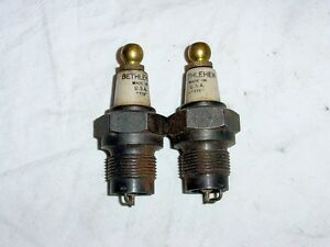 Nos Vintage Antique Bethlehem 7 8 Spark Plugs Chevy Buick Oldsmobile Cadillac