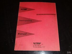 Waldon Dozer For Ih Tractor Parts Catalog Operators Manual Dw431