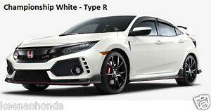 Genuine Oem Honda Civic Hatchback Type R Sport Touring Door Visor Kit 17 18