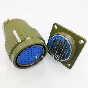 Us Stock Military 50 pin Male Female Circular Connector Y2m 50tk zj Yp36 50