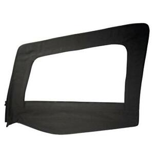 Driver Side Upper Door Skin With Frame Black Denim Jeep Wrangler Yj 87 95 89415