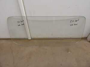 1950 1952 Pontiac Silver Streak 2 Door Fastback Rear Window Glass Clear Rat Rod