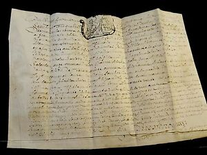 Antique Parchment 1728