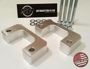 sr Chevy Gmc Silverado Sierra 07 20 Front 2 Lift Leveling Kit Lower Mount