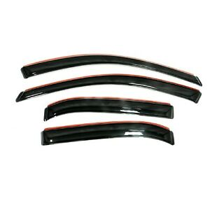 Auto Ventshade 194263 Set Of 4 Black In channel Ventvisors For Gmc Acadia