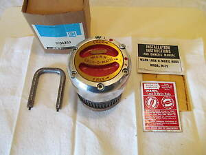 Nos Warn M75d Ford 1 2 Ton Dana 44 Locking Hub 19 Spline Gm3936253 Warn 9790