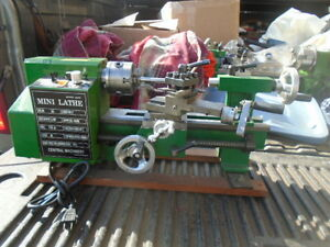 Machinist Tools Lathe Mill Machinist Central Machinery 7 Lathe Long Bed