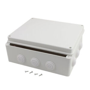 300mmx250mmx120mm Dustproof Ip65 Junction Box Electric Project Enclosure