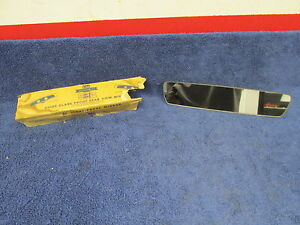 Vintage Chevy Oldsmobile Pontiac Guide Glare Proof Rear View Mirror Nos 417