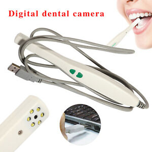 1x Dental Intraoral Camera Usb Sony Ccd 6 Led Lamp Auto focus Md740 Usb p Images