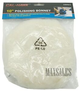 New 10 Car Polisher Buffer Waxer Polishing Car Detailing Buffing Bonnet