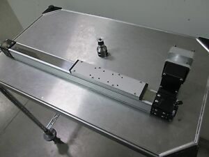 25 Linear Actuator Side Table Belt Driven W drive Pulley 8 5 Table 10 Travel