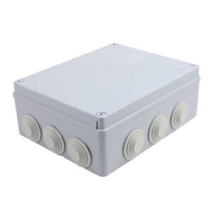 240x190x90mm Outdoor Electronic Terminal Junction Box Cover Case