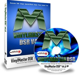 Vinylmaster Designer Dsr Vinyl Cutter Software Crossgrade With Media