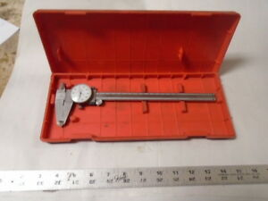 Machinist Tools Lathe Mill Machinist Mitutoyo 8 Dial Caliper Gage Gauge