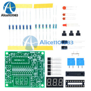 Ds18b20 At89c2051 Microcontroller Temperature Controller Led Alarm 5v Dc Diy Kit