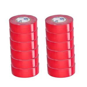 2 X 60 Yds Red Duct Tape 9 Mil 10 Cases 240 Rolls