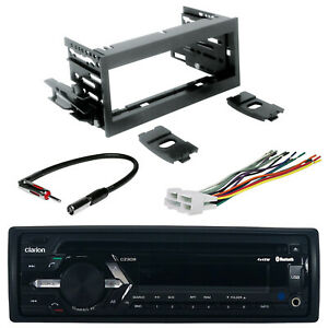 Car Stereo Receiver With Mini Speaker Connector Antenna Adapter And Truck Kit