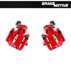 Rear Red Brake Calipers 1994 1995 1996 1997 2004 Ford Mustang Sn95