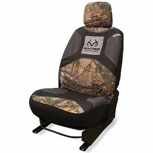 Signature Products Realtree Low Back Seat Cover Realtree Xtra