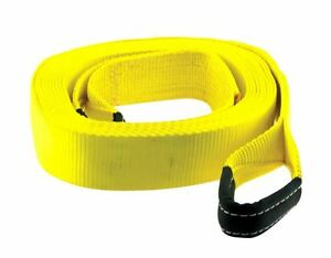 Smittybilt Tow Strap 2 X 30 20 000 Lb Rating Yellow Cc230