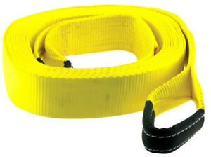Tow Strap 2 X 20 20 000 Lb Rating Yellow Smittybilt Cc220