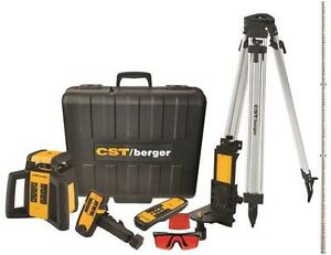 New Cst Berger Rl25hvck Usa Made 2 Beam Rotary Self Leveling Laser Level Sale
