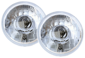 Ipcw Cwc 7008c Universal Chrome Lhd 7 Round Projector Headlight