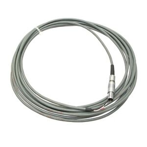 Fischer 102 7 pin Circular Push pull Connector On Shielded Cable