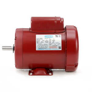1 Hp 1725rpm 56 Frame 115 230v Tefc Leeson Electric Motor new free Shipping