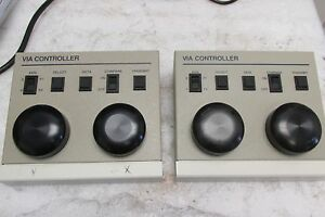 Lot Of 2 Boeckeler Ks 30 Video Image Marker Measuring System Controller