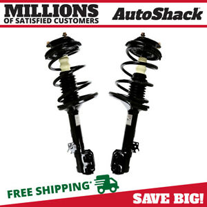 Front Pair 2 Complete Strut Assembly W coil Spring Fits 2000 2005 Toyota Rav4